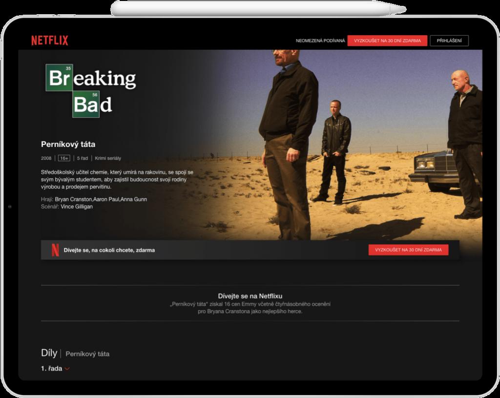Nejlepší fimy na Netflixu - Perníkový tátaNetflix